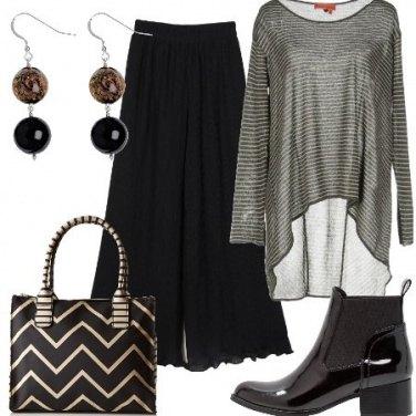 Outfit Le righe di giorno