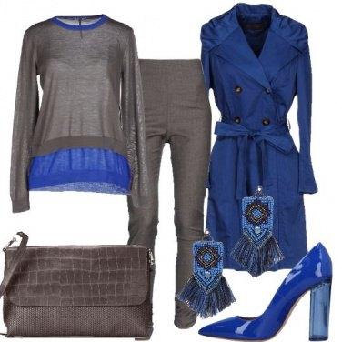 Outfit Un tocco di blu marine