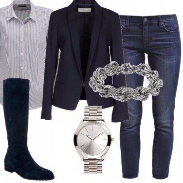 Outfit Blu e blu