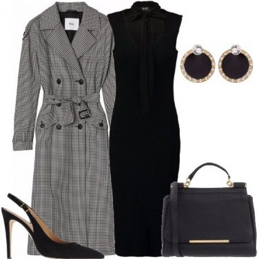 Outfit Il trench chic