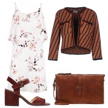 Outfit Fiori e quadri
