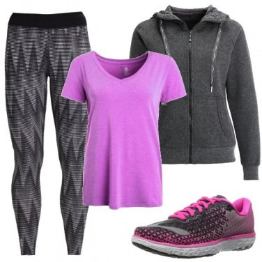 Outfit Fitness che passione