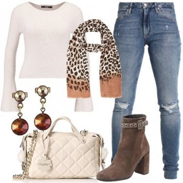 Outfit Fantasia animalier