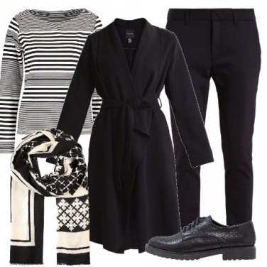 Outfit Il trench nero