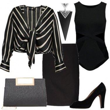 Outfit Righe e geometrie