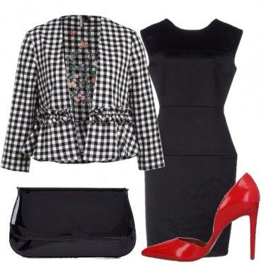Outfit Il classico tubino nero