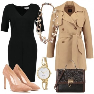 Outfit Abito e Trench
