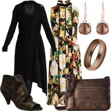 Outfit Dettagli bronzo