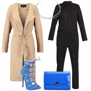 Outfit Chic in tuta