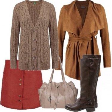 Outfit Castagne, nocciole e caffè!