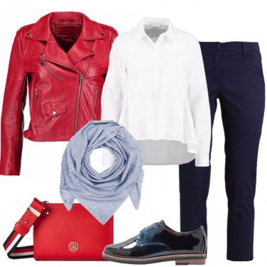 Outfit Il chiodo rosso