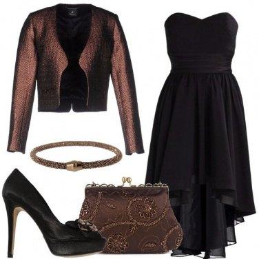 Outfit Cerimonia in nero