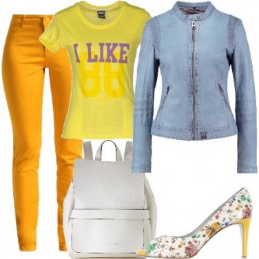 Outfit Open toe e t-shirt