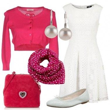 Outfit Armonia di bianco