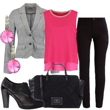 Outfit Rosa quanto basta