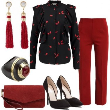 Outfit Pantaloni per una serata elegante