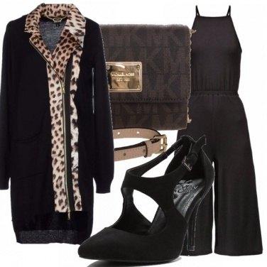 Outfit Jumpsuit&leopardato!