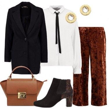 Outfit Il cappotto corto nero
