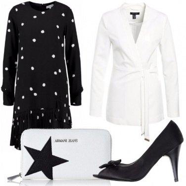Outfit Il binomio perfetto: bianco e nero.