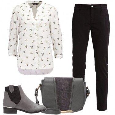 Outfit I colibrì nella camicia