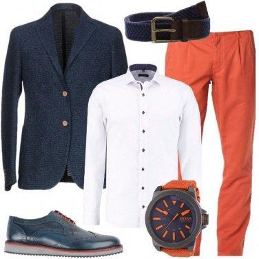 Outfit In ufficio a colori