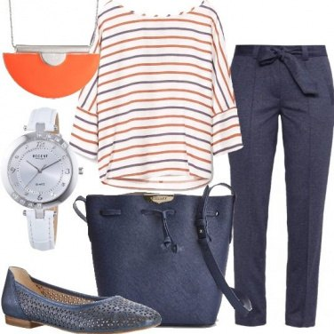 Outfit Blusa fantasia a stampa
