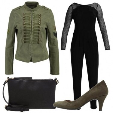 Outfit La giacca verde