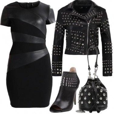 Outfit Borchie sul nero