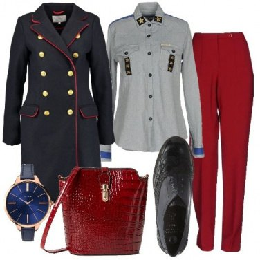 Outfit Donna graduata
