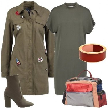 Outfit La giacca military chic