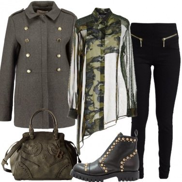 Outfit Trend militare