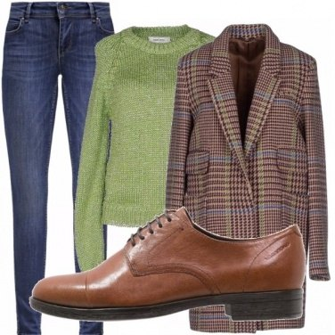 Outfit Mannish style!