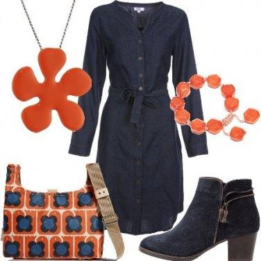 Outfit Coloriamo il blu