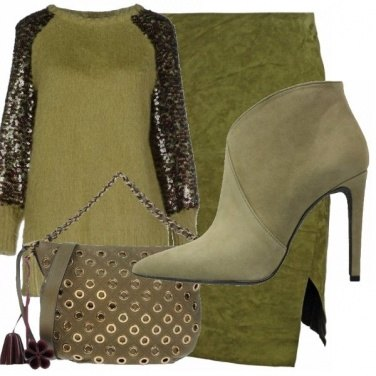 Outfit Total green!