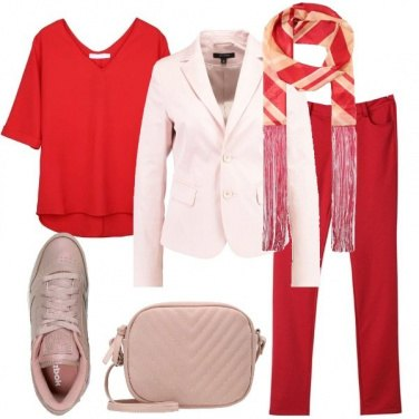 Outfit Sneakers rosa