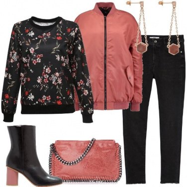Outfit Fiori trendy