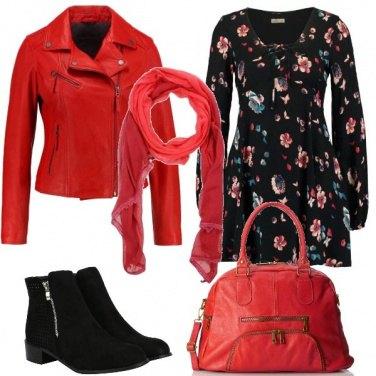 Outfit L\'abito corto a fiori