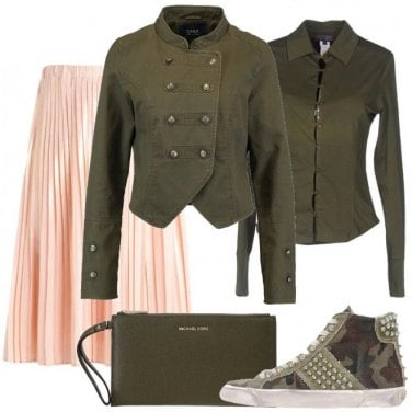 Outfit Urban militare
