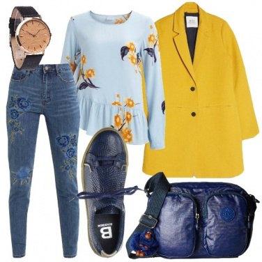 Outfit Il mio cappotto giallo