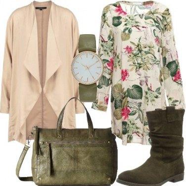 Outfit Mini abito fantasia