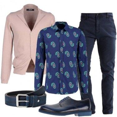 Outfit La camicia in fantasia Paisley