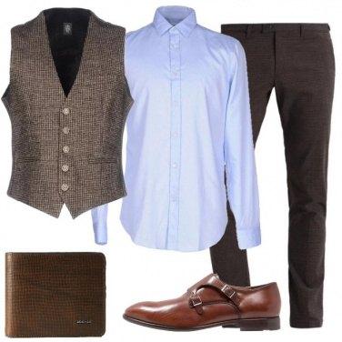 Outfit Il gilet di lana