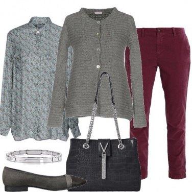 Outfit Cachemire cotone e seta