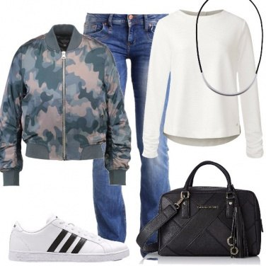 Outfit Military bomber
