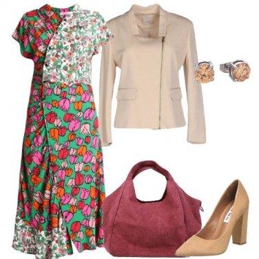 Outfit Fiori e ancora fiori