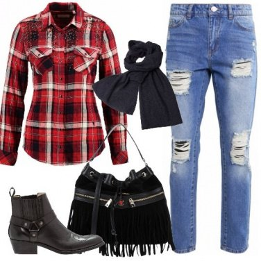 Outfit Serata stile country