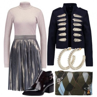 Outfit Military trendy chic