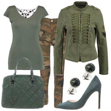 Outfit Mimetizzata