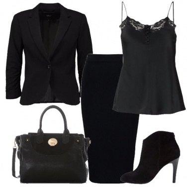 Outfit Amo il nero