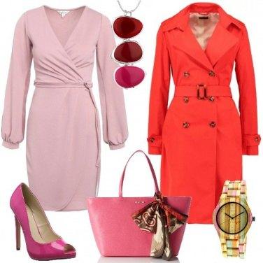 Outfit Il rosa e il rosso